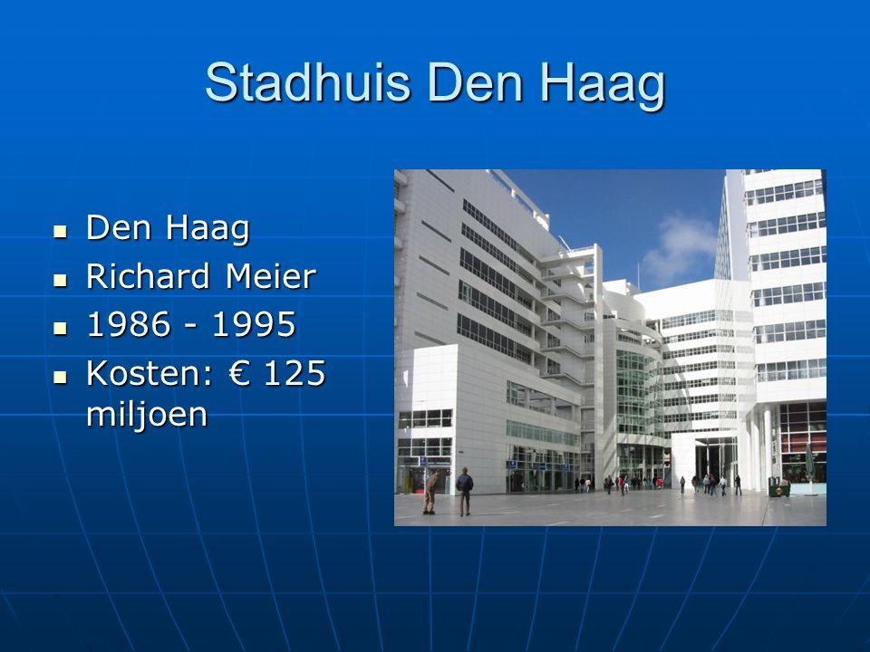 Stadhuis Den Haag Den Haag Richard Meier 1986 - 1995