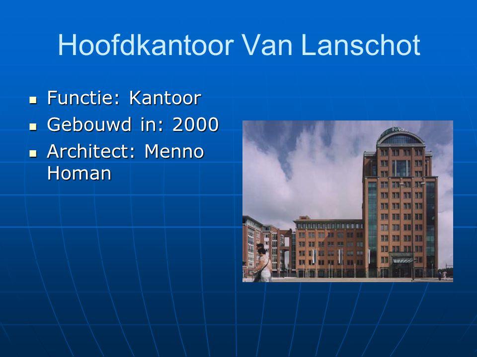 Hoofdkantoor Van Lanschot