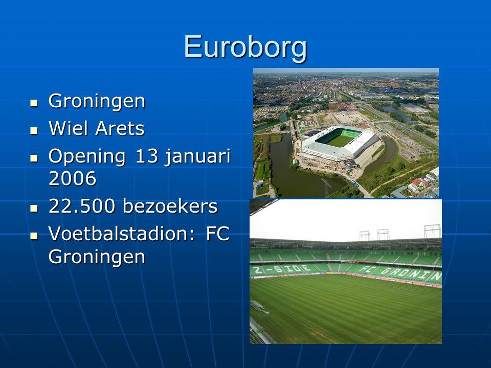 Euroborg Groningen Wiel Arets Opening 13 januari 2006 22.500 bezoekers