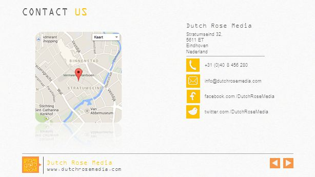 CONTACT US Dutch Rose Media Dutch Rose Media www.dutchrosemedia.com