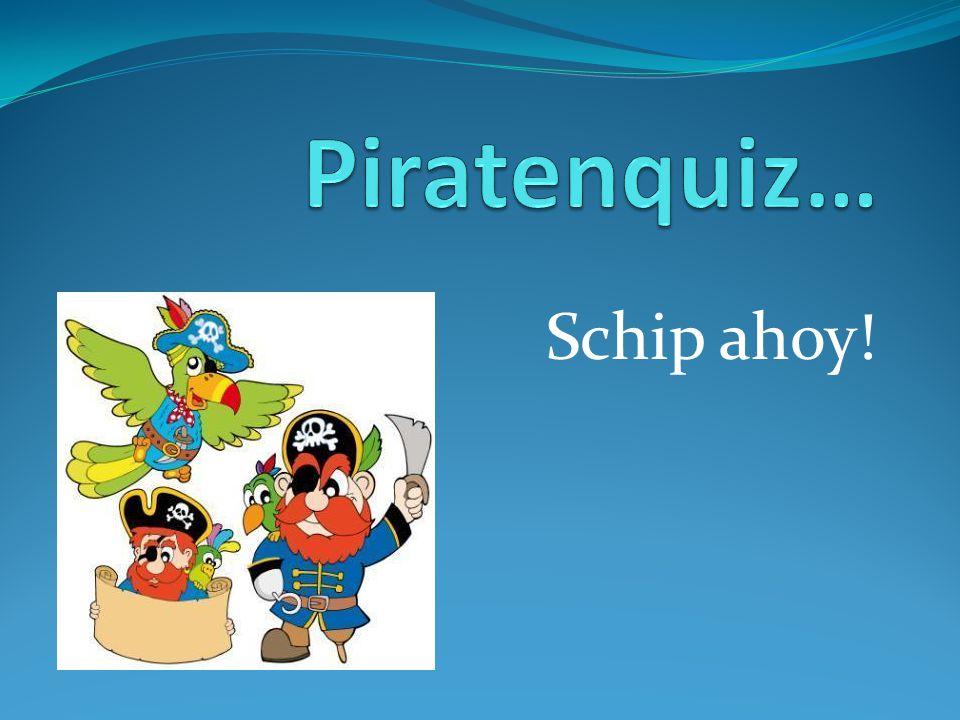 Piratenquiz… Schip ahoy!