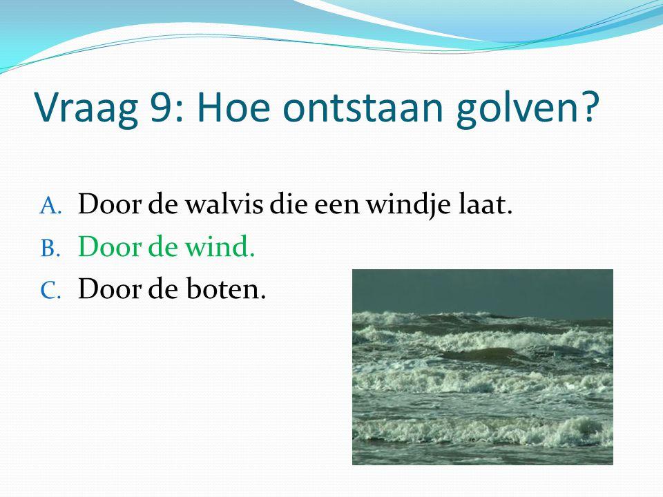 Vraag 9: Hoe ontstaan golven