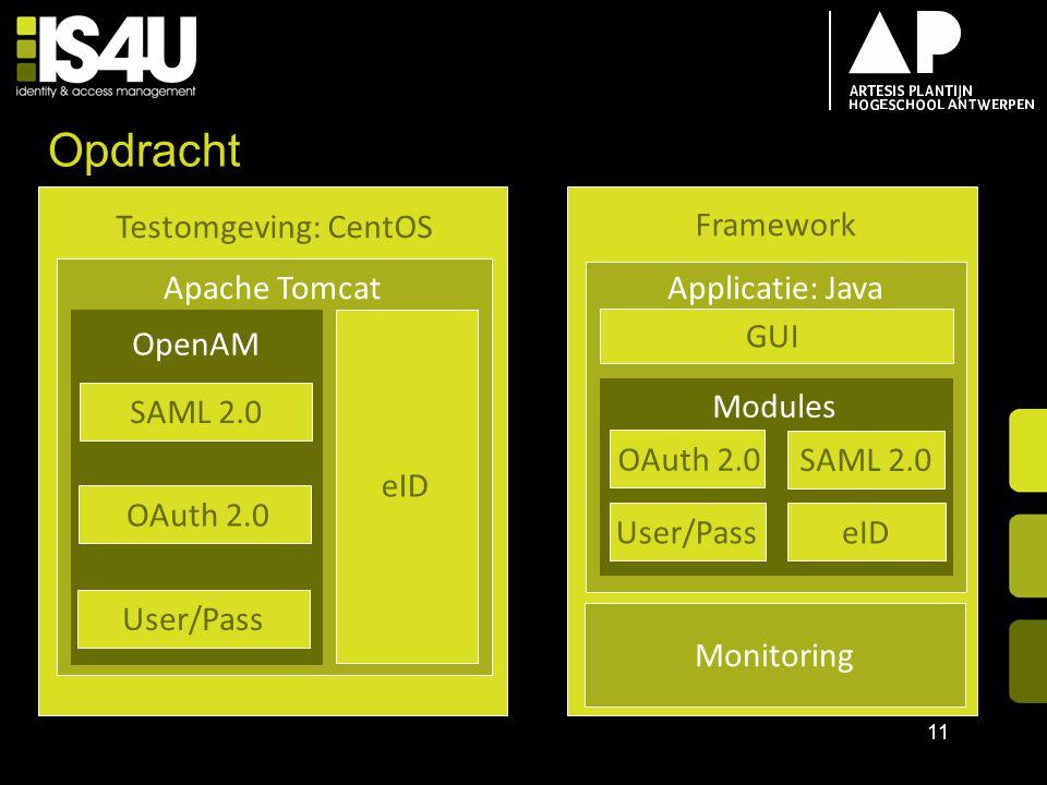 Opdracht Testomgeving: CentOS Framework Update Apache Tomcat
