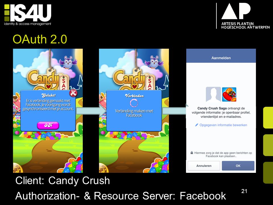 OAuth 2.0 Client: Candy Crush