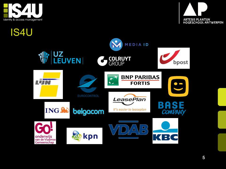 18/04/2017 IS4U. IS4U heeft voor al deze klanten voor een implementatie of security oplossing gezorgd.