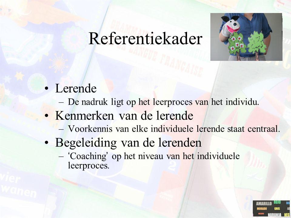 Referentiekader Lerende Kenmerken van de lerende