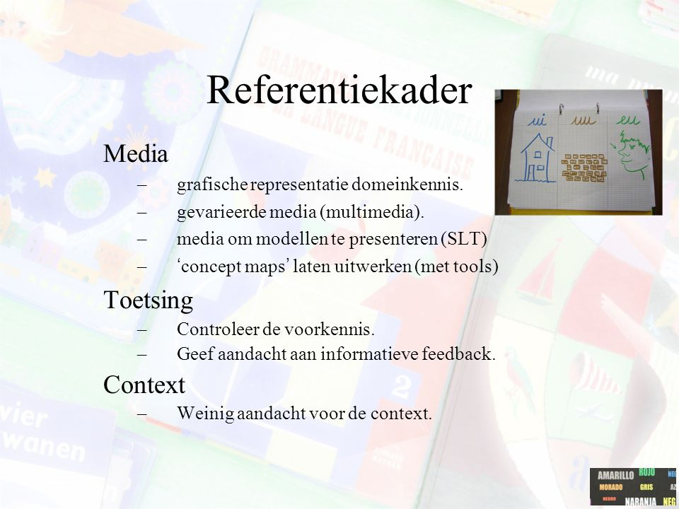 Referentiekader Media Toetsing Context