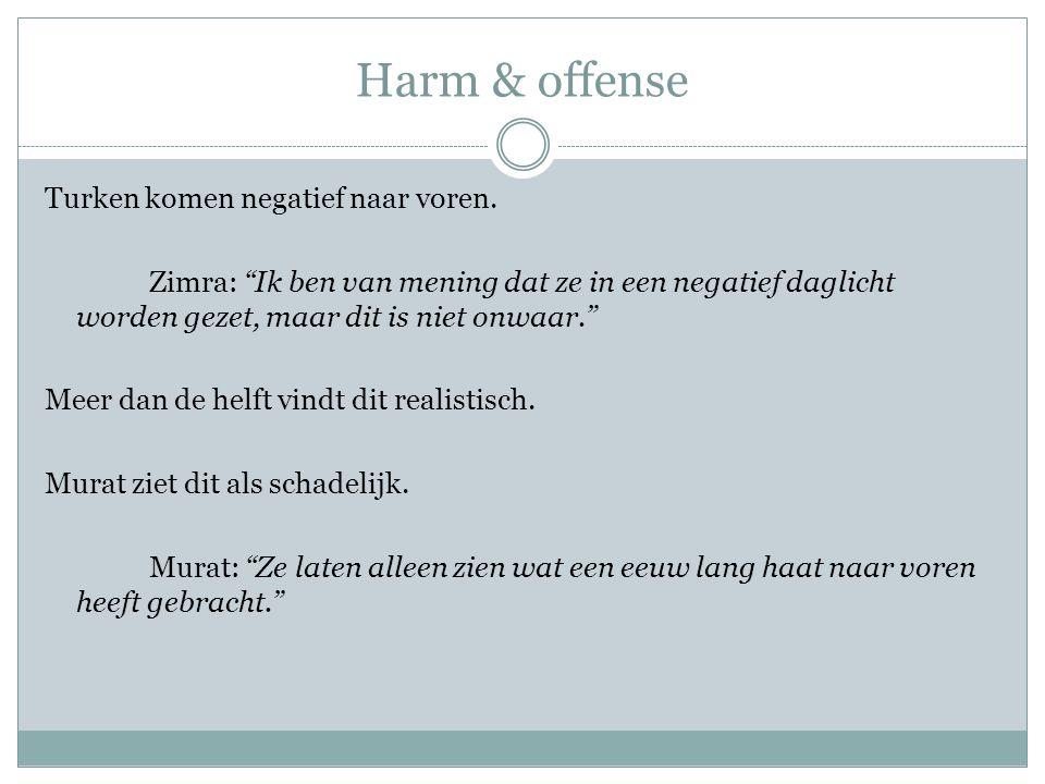 Harm & offense
