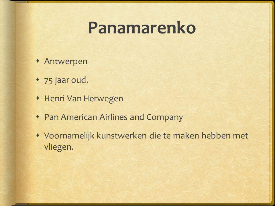 Panamarenko Antwerpen 75 jaar oud. Henri Van Herwegen