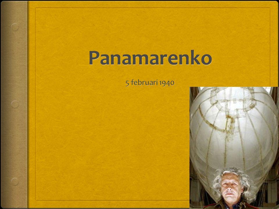 Panamarenko 5 februari 1940
