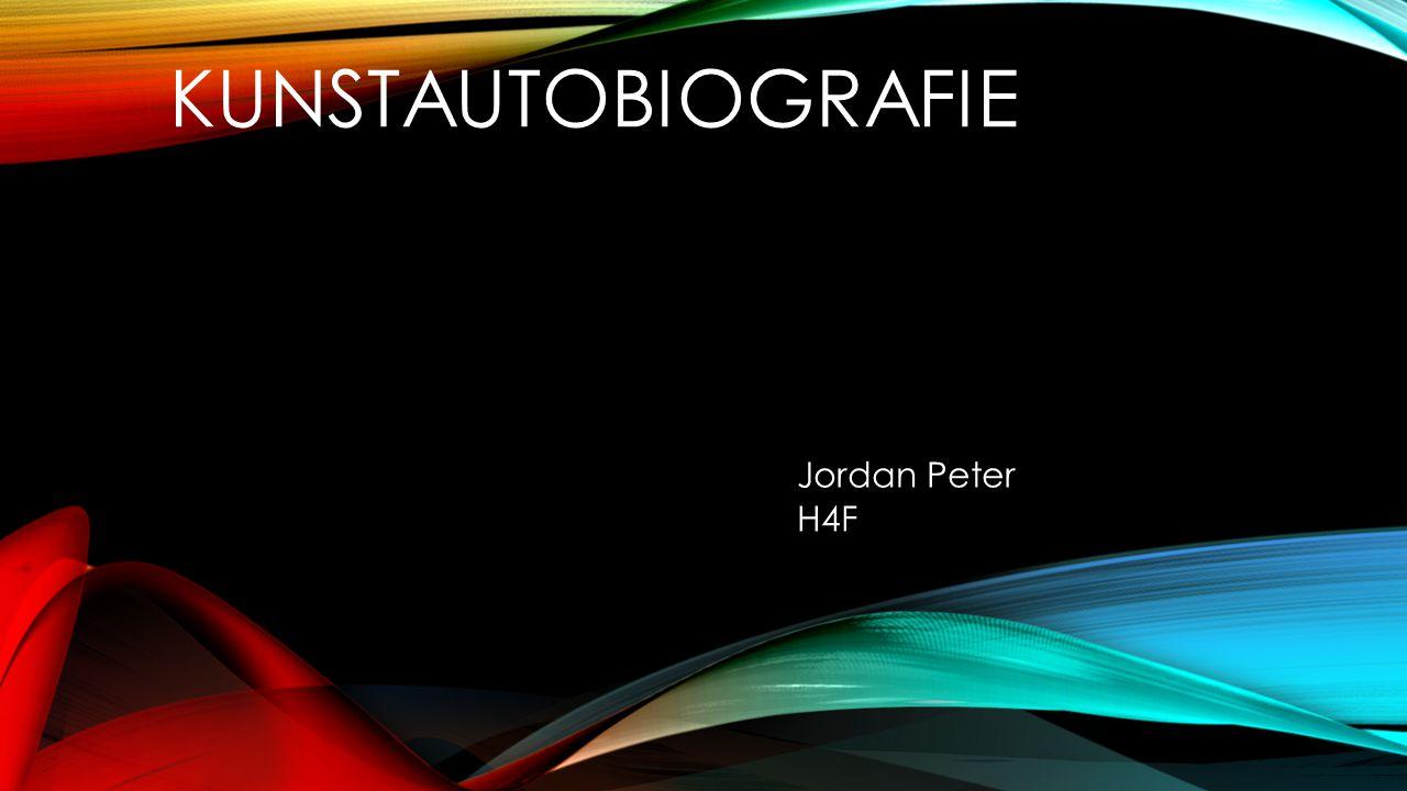 Kunstautobiografie Jordan Peter H4F