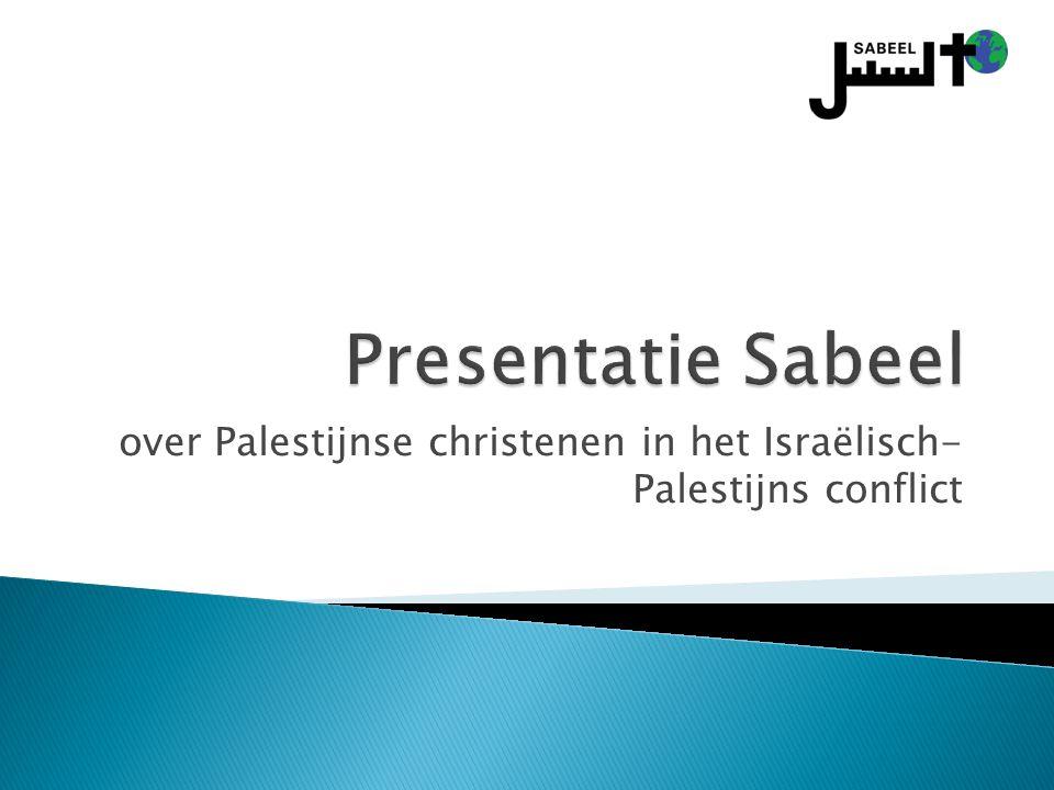 over Palestijnse christenen in het Israëlisch- Palestijns conflict