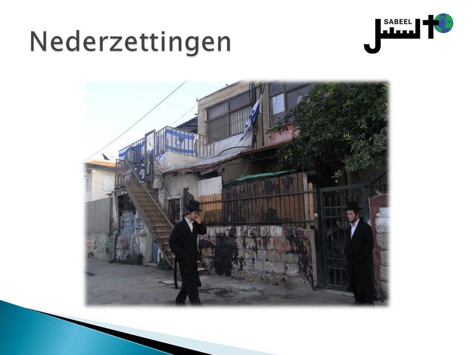 Nederzettingen Een nederzetting zoals ze voorkomen in Oost-Jeruzalem en Hebron.