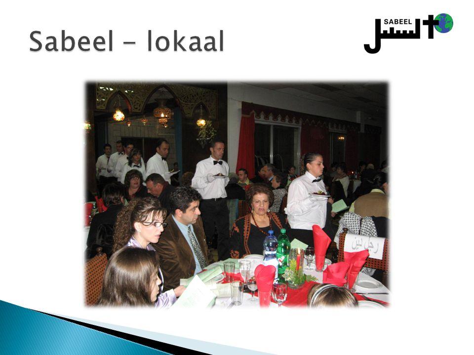 Sabeel - lokaal Lokale programma´s voor Palestijnse christenen: plaatselijke gemeenschap – Advent, Kerst, vastentijd.