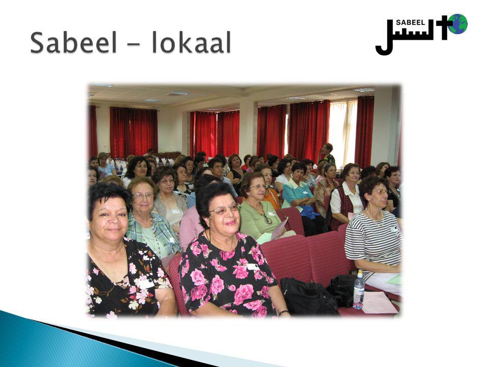 Sabeel - lokaal Lokale programma´s voor Palestijnse christenen: vrouwen – bijbelstudies, trips