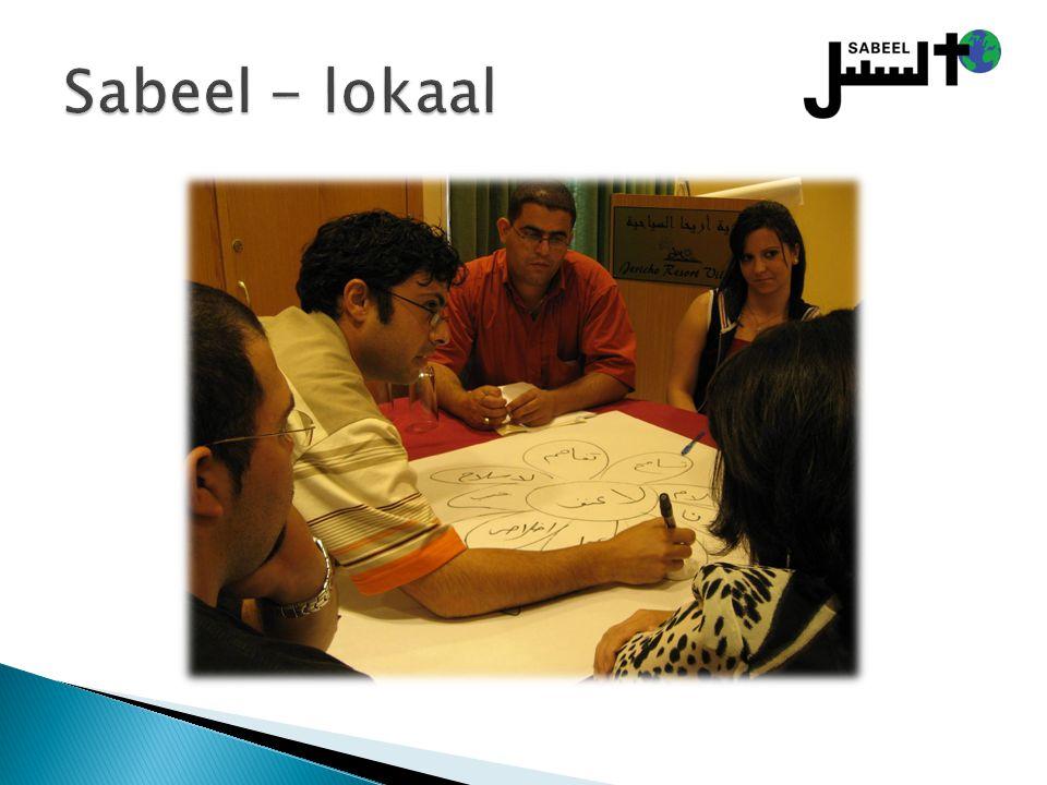 Sabeel - lokaal Lokale programma´s voor Palestijnse christenen: jongeren – Bijbelstudies, trips