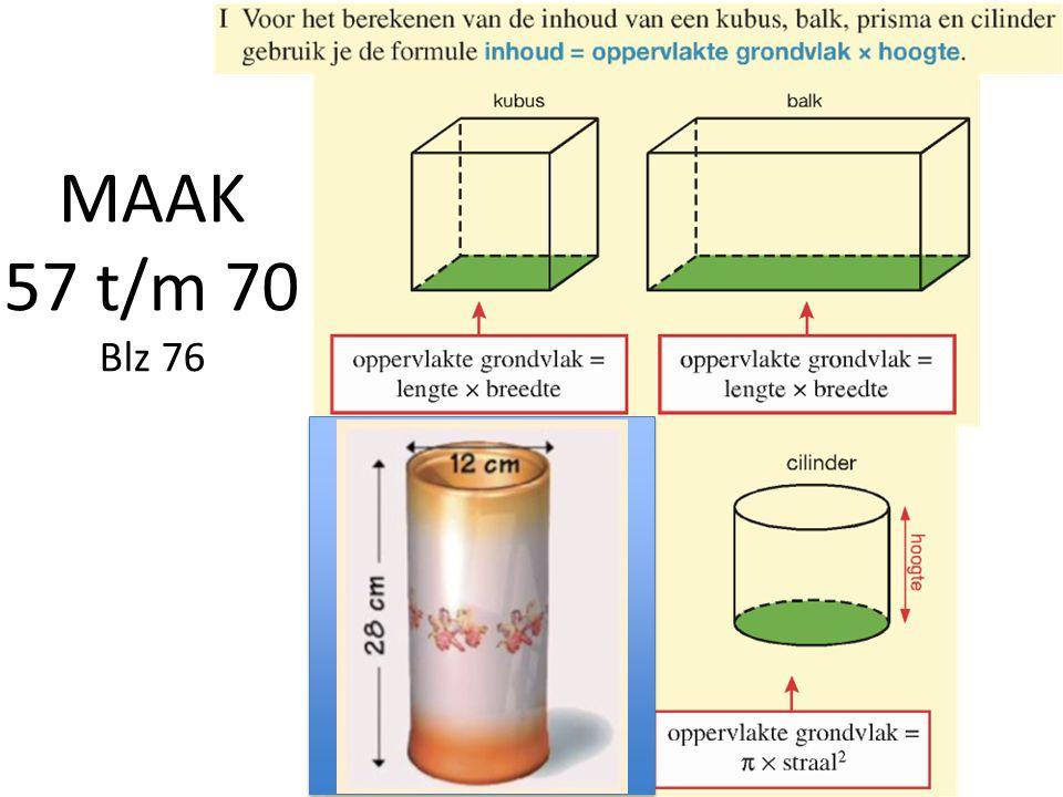 MAAK 57 t/m 70 Blz 76