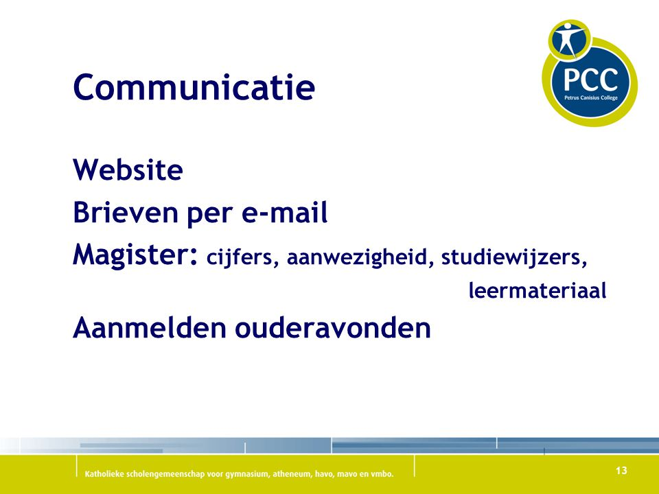 Communicatie Website Brieven per e-mail