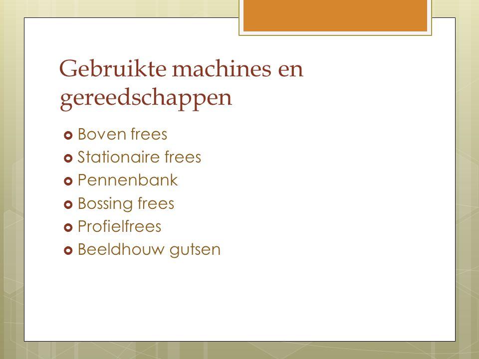 Gebruikte machines en gereedschappen