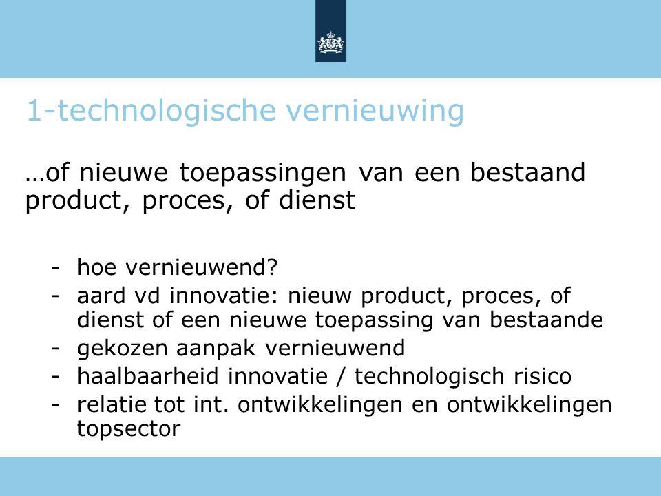 1-technologische vernieuwing