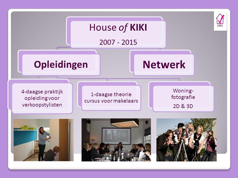 Netwerk House of KIKI Opleidingen 2007 - 2015