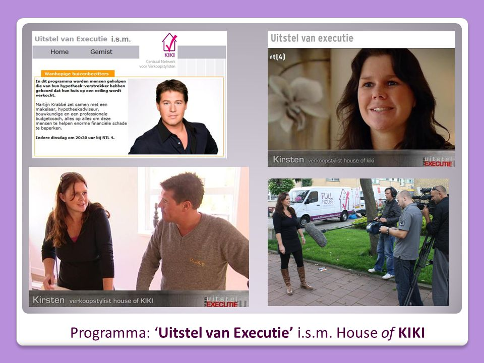 Programma: 'Uitstel van Executie' i.s.m. House of KIKI