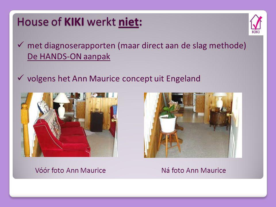 House of KIKI werkt niet: