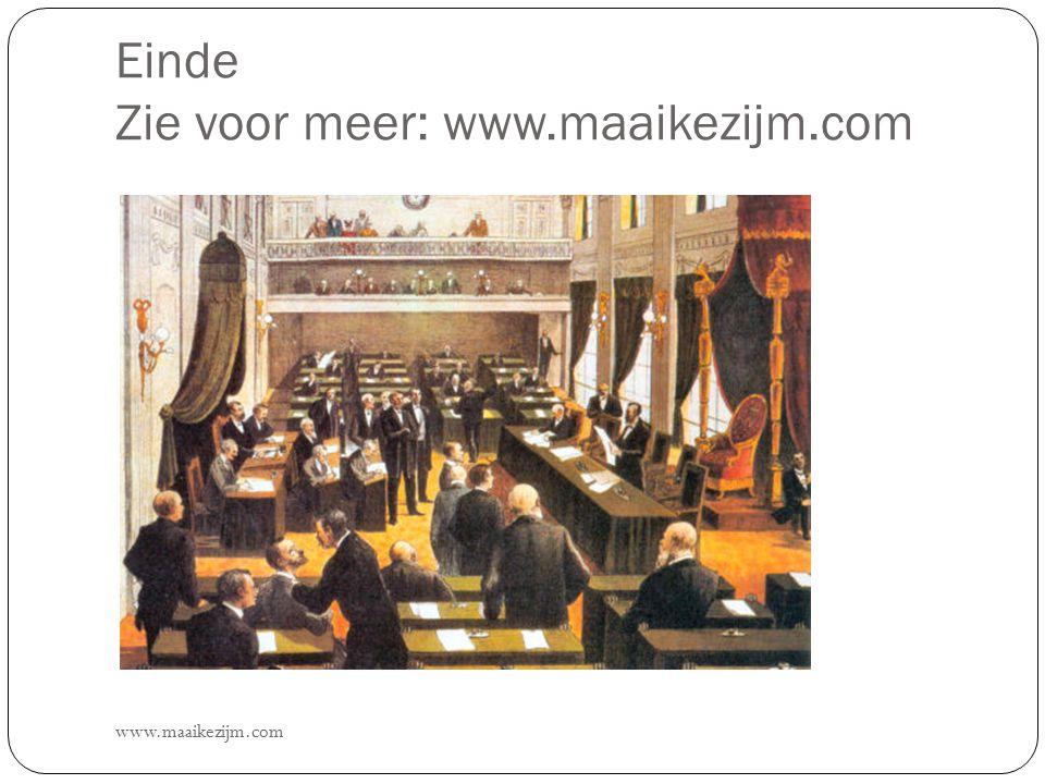 Einde Zie voor meer: www.maaikezijm.com