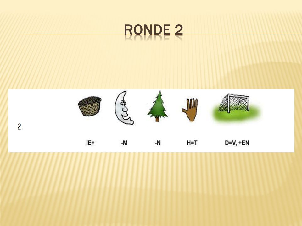 RONDE 2