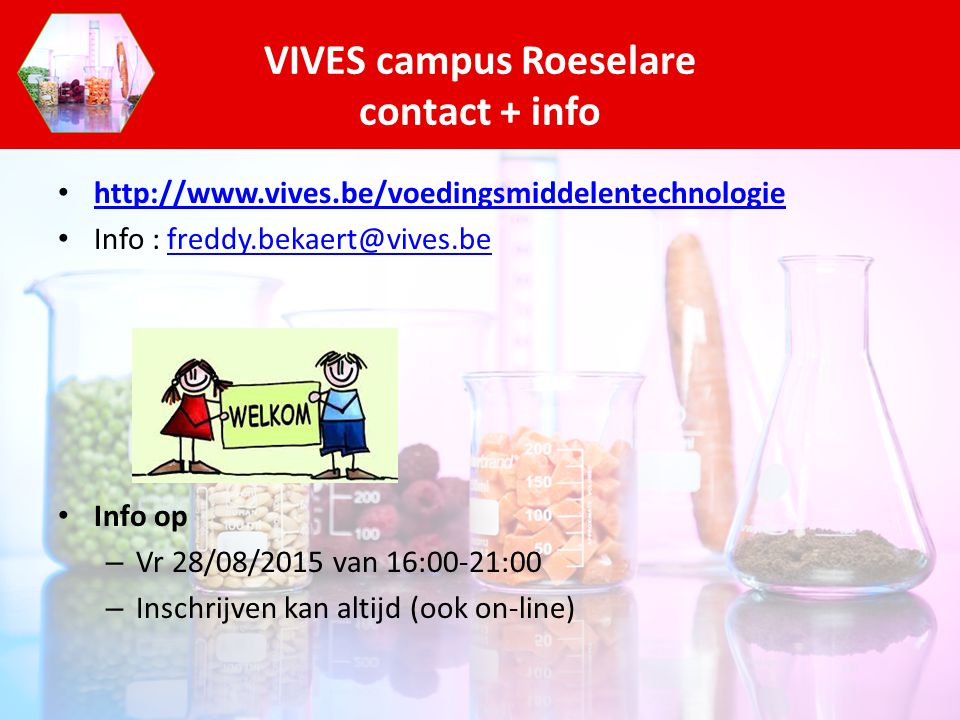 VIVES campus Roeselare contact + info