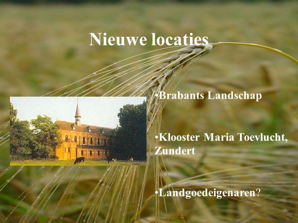 Nieuwe locaties Brabants Landschap Klooster Maria Toevlucht, Zundert