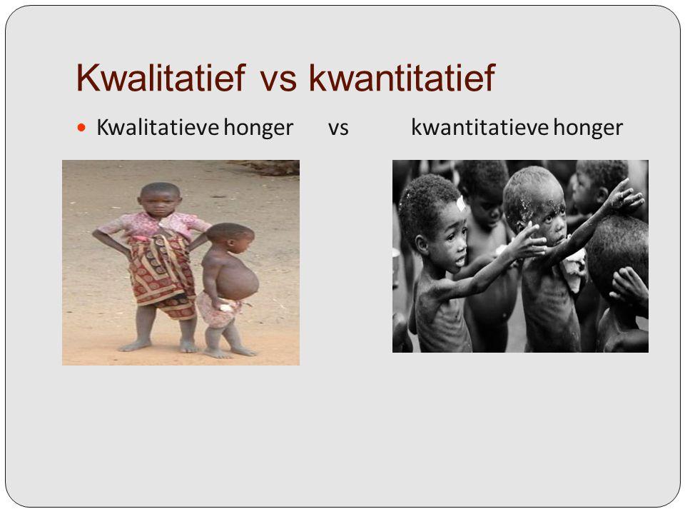Kwalitatief vs kwantitatief