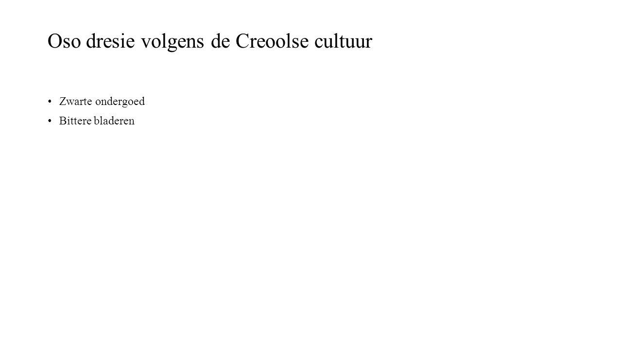 Oso dresie volgens de Creoolse cultuur