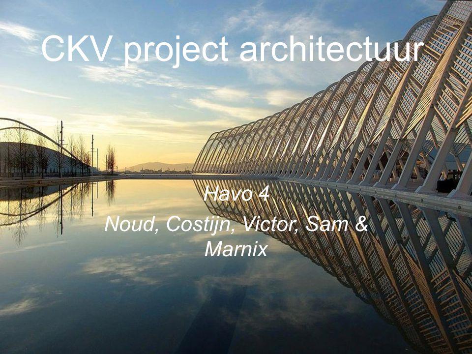 CKV project architectuur