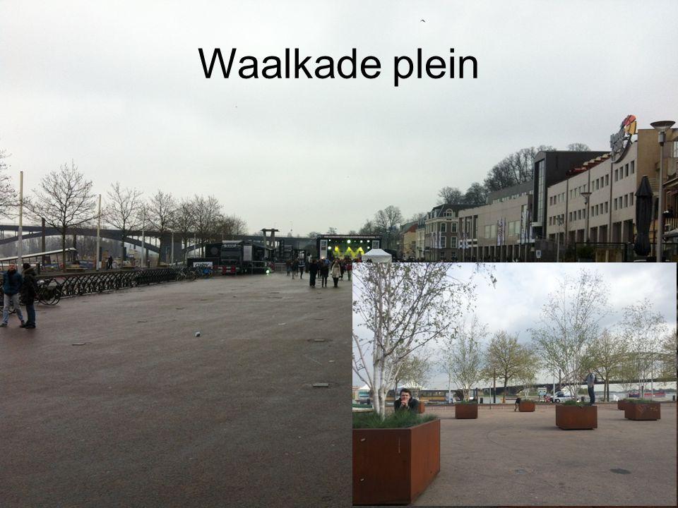 Waalkade plein