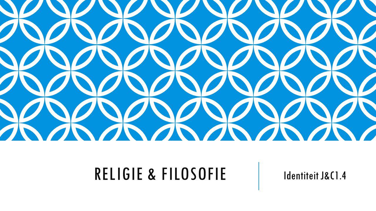 Religie & Filosofie Identiteit J&C1.4