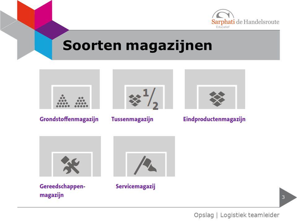 Soorten magazijnen Opslag | Logistiek teamleider