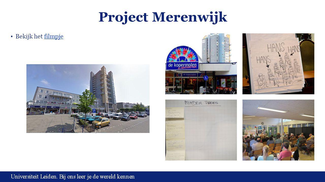 Project Merenwijk Bekijk het filmpje