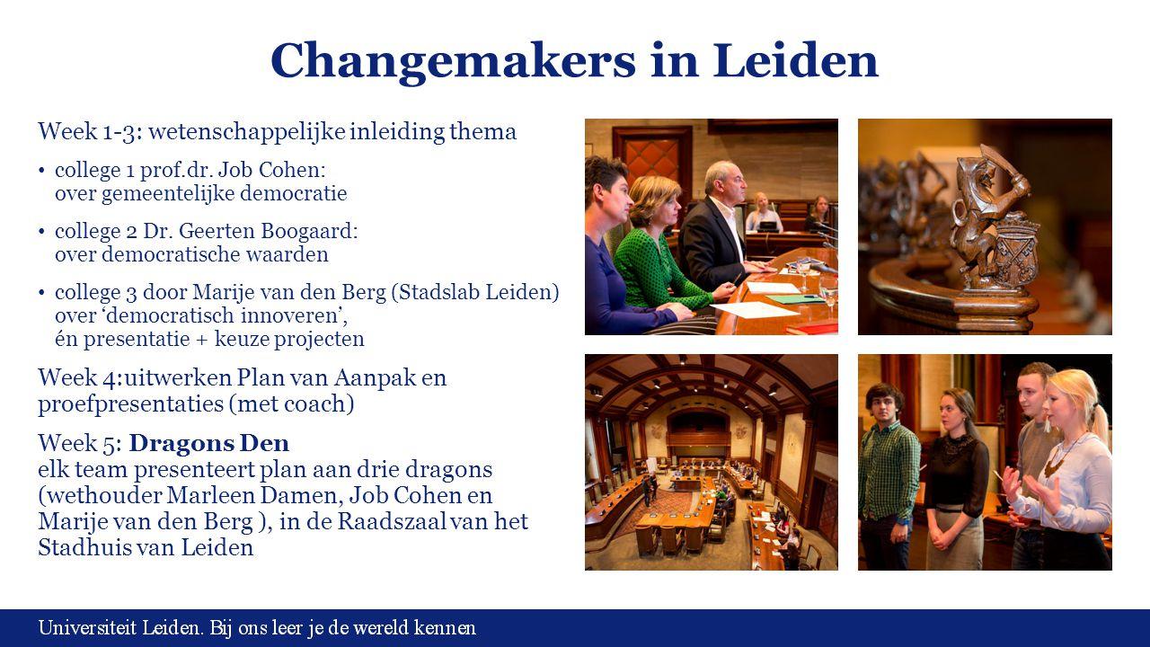 Changemakers in Leiden