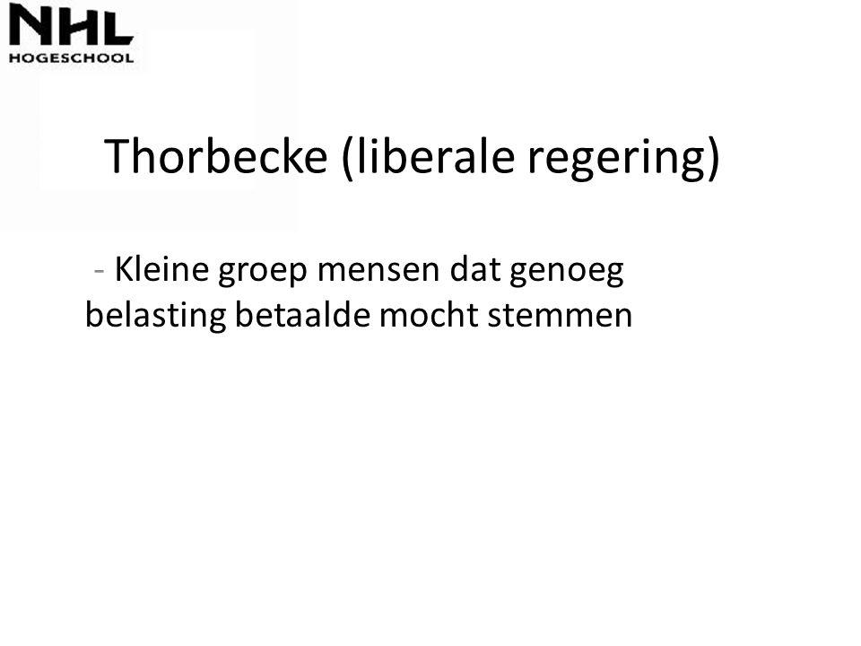 Thorbecke (liberale regering)