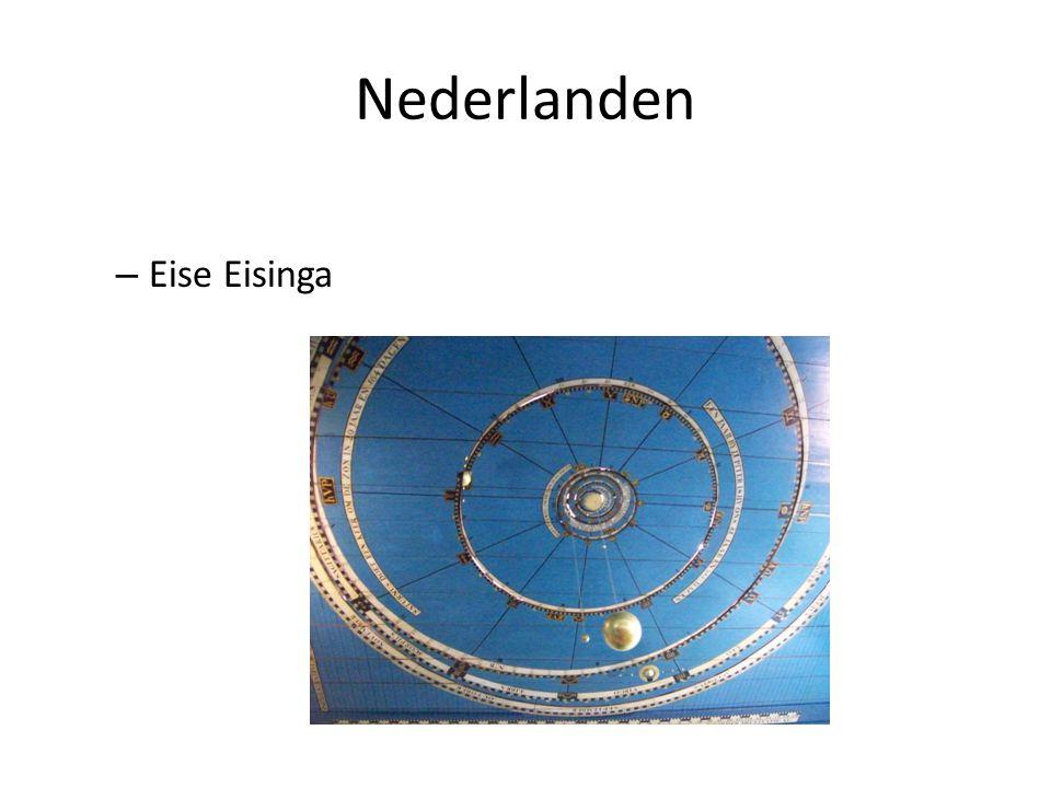 Nederlanden Eise Eisinga