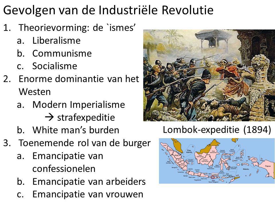 Gevolgen van de Industriële Revolutie