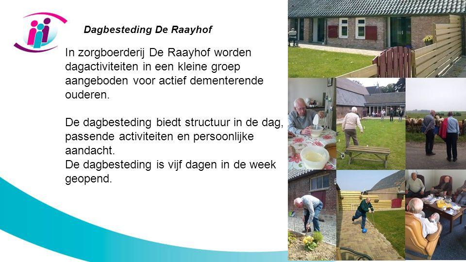 Dagbesteding De Raayhof