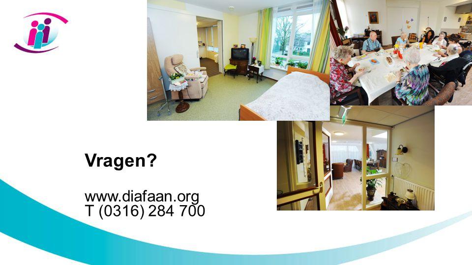 Vragen www.diafaan.org T (0316) 284 700