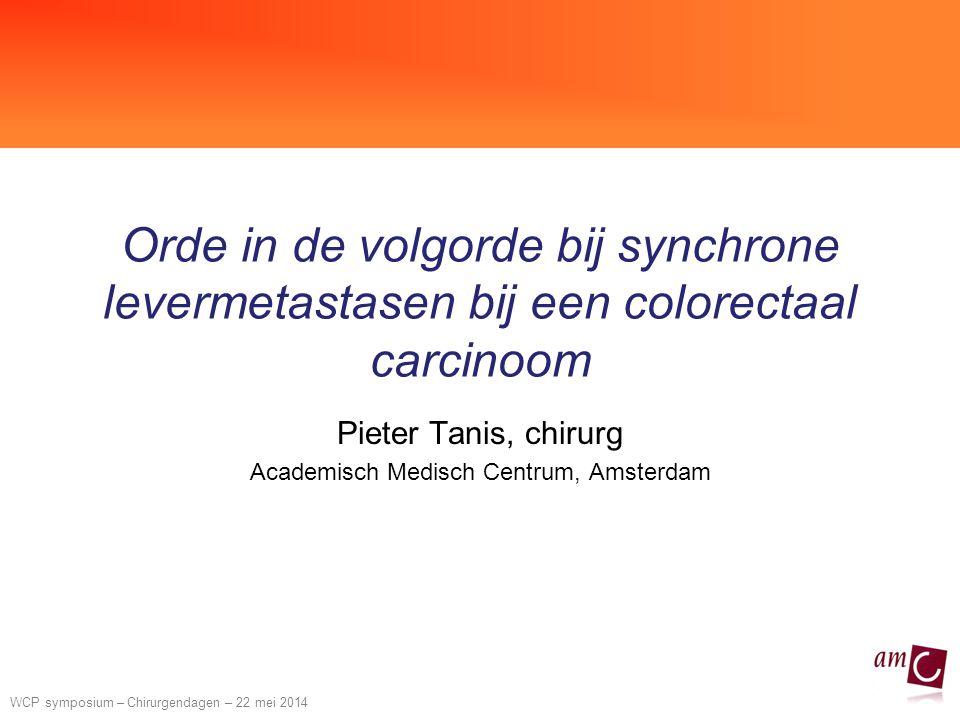 Pieter Tanis, chirurg Academisch Medisch Centrum, Amsterdam