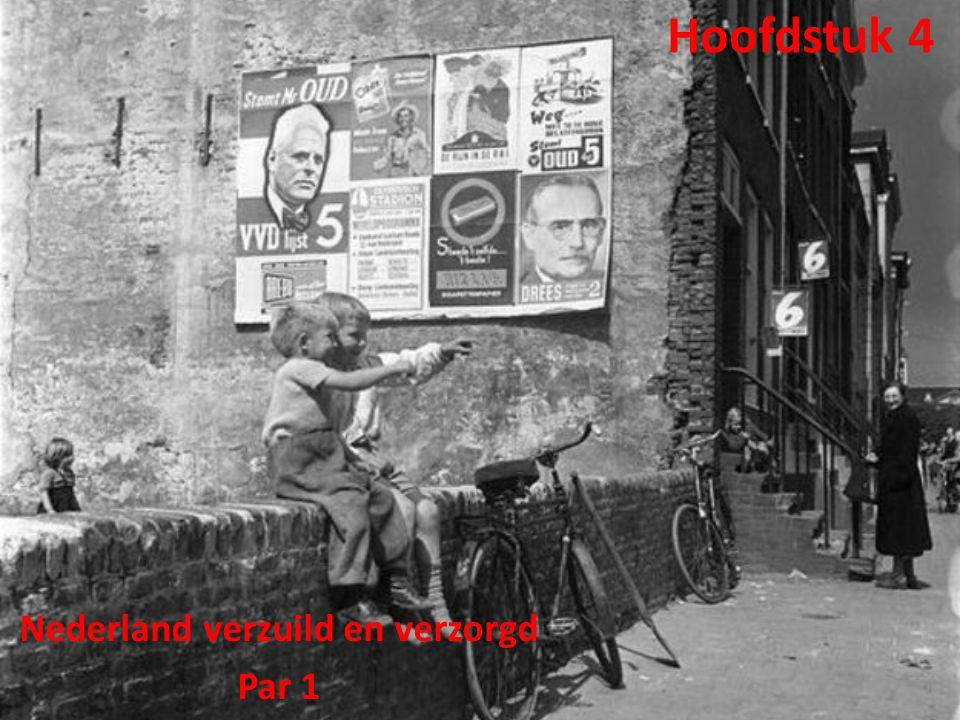 Nederland verzuild en verzorgd Par 1
