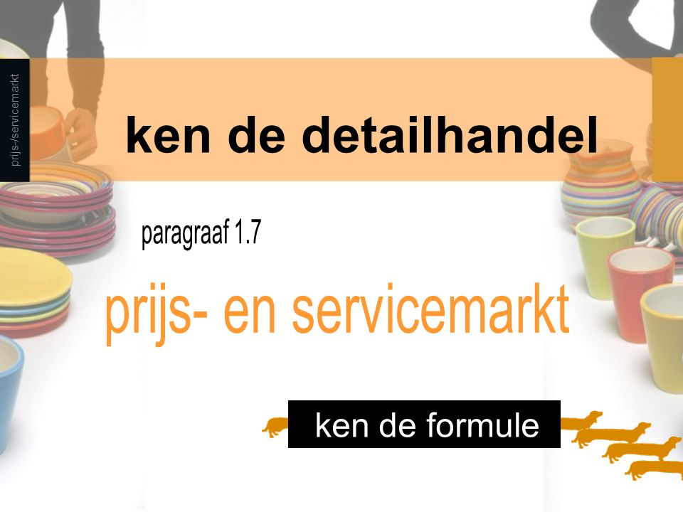 prijs- en servicemarkt