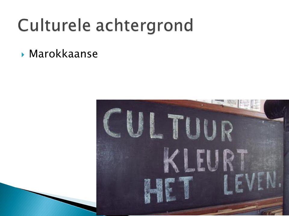 Culturele achtergrond