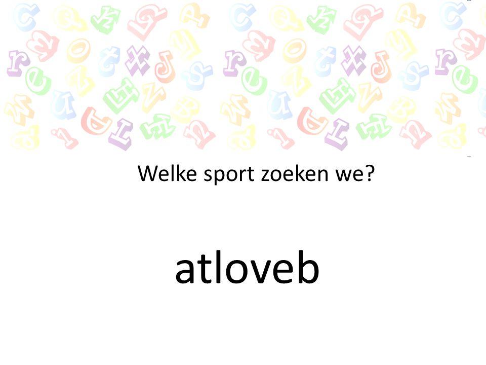 Welke sport zoeken we atloveb