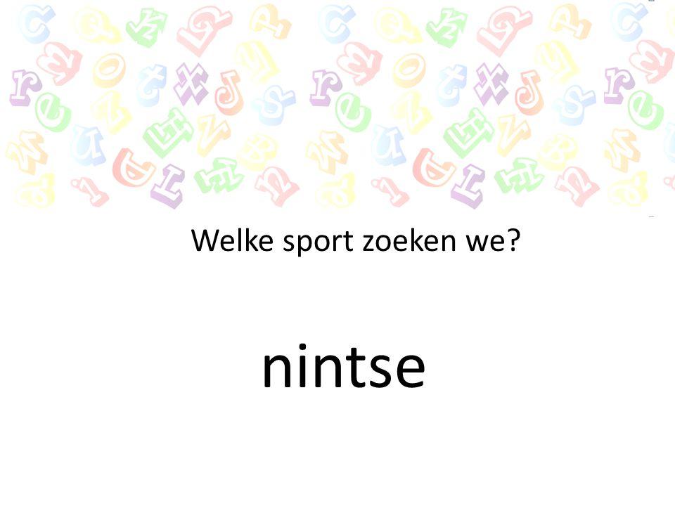 Welke sport zoeken we nintse